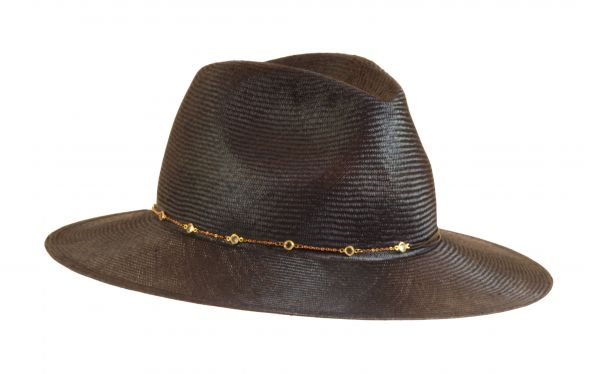 Fedora in parasisal with chain spring summer marzi