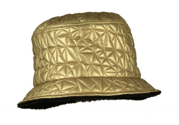cloche hat winter quilted marzi