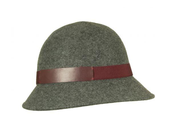 cloche melange wool winter marzi hat