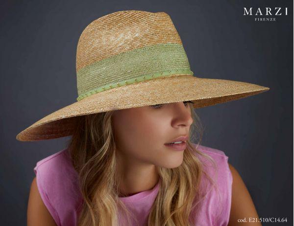 straw fedora spring summer marzi model