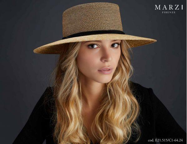 boater straw spring summer marzi model