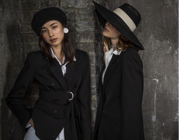 fedora winter leather marzi models