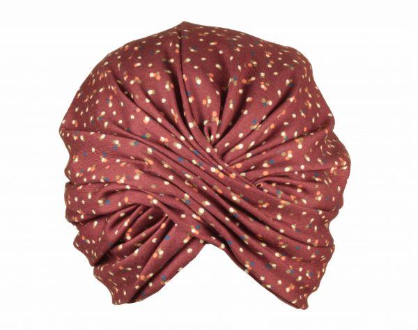turban polkadot winter marzi