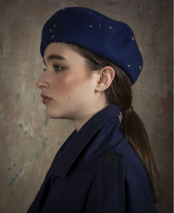 beret wool winter marzi model