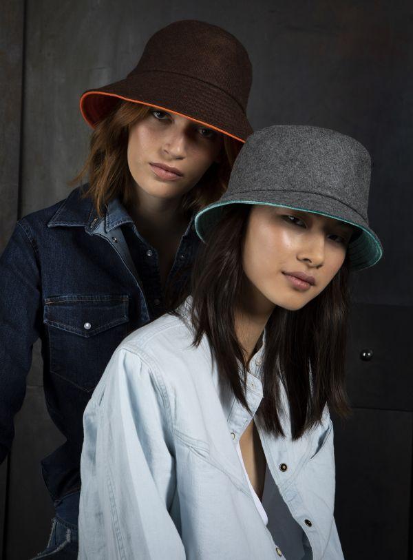 cloche tweed velvet silk winter marzi models